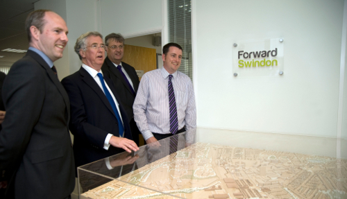 Business Minister visits Forward Swindon today